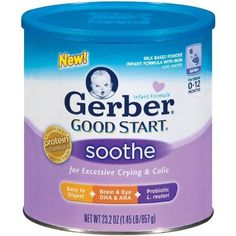 Nestle Gerber Good Start Infant Formula for Excessive Crying & Colic, 23.2 Ounce - Pack of 3 Reduce Crying time up to 60%. Reduce Crying in 80% of Infants.  #Gerber #Grocery