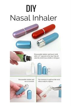 Nasal Inhalers are an easy way to enjoy the benefits of #essentialoils anywhere you go.