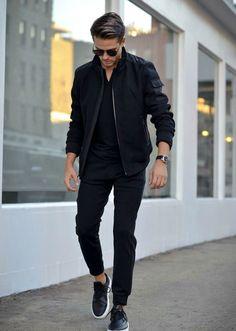 Men's Street Style - Smart Casual Look