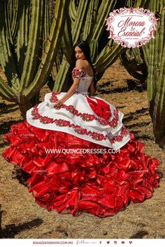 Mariachi Quinceanera Dress, Mexican Quinceanera Dresses, Quinceanera Decorations, Quince Dresses Mexican, Mexican Wedding Dresses, Charro Dresses, Charro Outfit, Quince Themes, Fashion Clothes