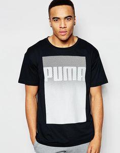 Camiseta larga Evolution de Puma. Men's FashionLogoCatT ShirtsMale  ClothingPumasCasual WearAsosAdidas