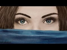 How to Paint Eyes LIVE Acrylic Painting Tutorial - YouTube