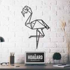 Metal Wall Art - Flamingo