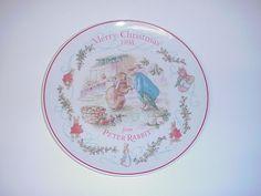 Wedgwood Peter Rabbit Warne Christmas Plate
