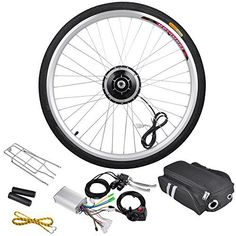 """AW 48V 1000W 26"""" Front Wheel Electric Bicycle Motor Kit E-Bike Cycling Hub Conversion Outdoor Sport   bicyclestoredirect.com"""