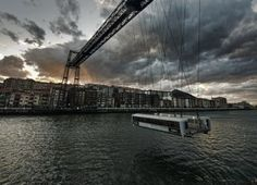 """La historia de los puentes-transbordadores. Empezando por el """"Puente Bizkaia"""""""