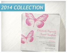 Butterfly Wedding Invitations  Invites  by InvitationSnob on Etsy, $21.50