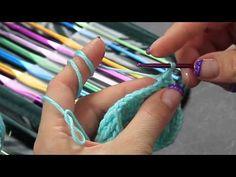 Video Tutorial Uncinetto Maglia bassissima - slip stitch - Punti base Full HD Ita - YouTube