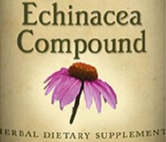 ECHINACEA COMPOUND Tincture Natural Immune & Lymphatic System Support Single Herb Liquid Extract USA