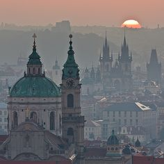 Prague, Czech Republic  (by Tomas Megis)    let's just admire the beauty