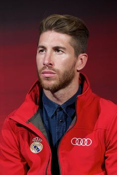 Sergio Ramos Photos: Real Madrid Players Receive New Audi Cars