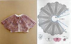 Crochet cape with pattern Crochet Cape, Crochet Diy, Crochet Girls, Crochet Baby Clothes, Crochet Woman, Crochet Motif, Crochet For Kids, Crochet Shawl, Crochet Patterns