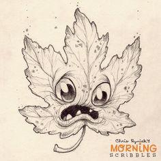 It's Falllllll..... #morningscribbles | 출처: CHRIS RYNIAK