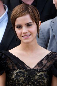 6. Emma Watson's Short Crop