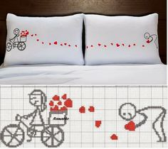 Brilliant Cross Stitch Embroidery Tips Ideas. Mesmerizing Cross Stitch Embroidery Tips Ideas. Cross Stitching, Cross Stitch Embroidery, Embroidery Patterns, Hand Embroidery, Cross Stitch Designs, Cross Stitch Patterns, Loom Patterns, Cross Stitch Heart, Diy Pillows