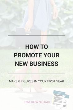How entrepreneurs are making 6 figures in their first year. Plus a free daily checklist to promote your business and grow your audience! Business Coach, Business Advice, Business Entrepreneur, Business Planning, Insurance Business, Business Quotes, Business Opportunities, Event Planning, Make Money Blogging