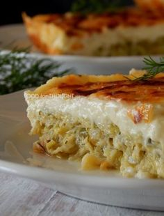 Dessert Recipes, Desserts, Greek Recipes, Lasagna, Macaroni And Cheese, Food And Drink, Cooking Recipes, Vegetarian, Lunch