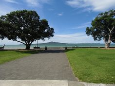 Rangitoto Island from Mission Bay