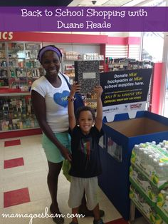Gathering back supplies for your student?  Be sure to purchase a few extra items for Operation Backpack - drop off location at #DuaneReade #cbias #shop