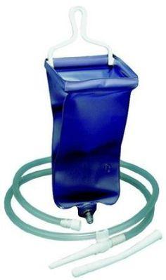 Bock à Lavement – 2 sac de litres: 2 litre lavement et douche kit réutilisable pour un usage domestique