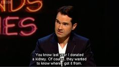 Fuck Yeah! Jimmy Carr!