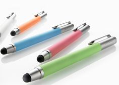 Wacom Bamboo iPad stylus. Totally want one when I get my ipad. Not sure what the best software for drawing on the iPad is, though.