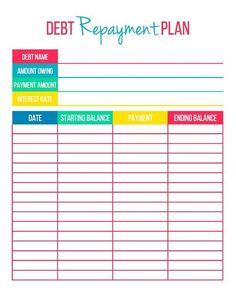 budget printables organizing finances Debt Repayment Printables - Get organized and focused on improving your finances with these free debt repayment printables! This set includes a Debt Overview and Debt Repayment Plan. Budgeting Finances, Budgeting Tips, Finances Debt, Monthly Expenses, Date, Monthly Budget Template, Printable Budget, Budget Templates, Printable Cards