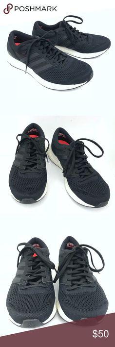 superior quality ddd7b 05e9a Adidas Adizero Boston Boost 6 Black Womens Sz 7 Adidas Adizero Boston Boost  6 Black Womens