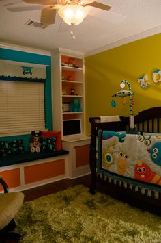 Diy Monsters Inc Nursery From Scratch