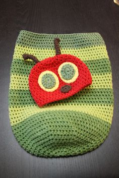 Crochet Hat Pattern - HUNGRY CATERPILLAR-I Can so make this!