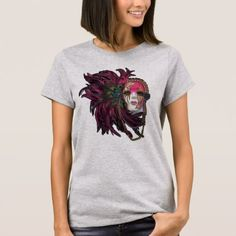 Fancy Cajun Peacock Mardi Gras T-Shirt - fancy gifts cool gift ideas unique special diy customize