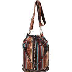 Boho Chic Bucket Bag (Nepal)   Overstock.com