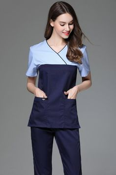 Back To Search Resultsnovelty & Special Use Special Section Korea Style Fashion Slim Fit Medical Scrub Sets Beauty Salon Plastic Surgery Hospital Workwear Gowns Doctors Nurses Uniforms