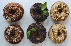 Girl Scout Cookie Donuts