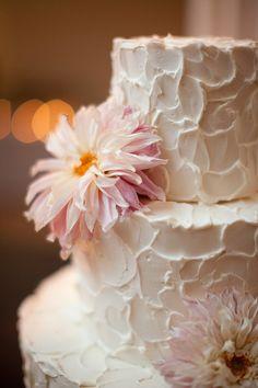 Wedding cake by Amy Beck; Greenhouse Loft!