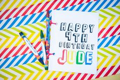 Jude's Pop Art Birthday Party! | CatchMyParty.com