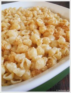 Ranch Macaroni and Cheese... that's dangerous, two of my favorite evil foods.  must try.
