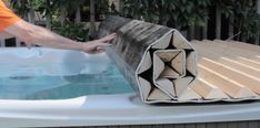 Our roll-up covers are ideal for anyone who struggles to lift a heavy foam hot tub cover. For more info: http://www.canhottub.com/classic_covers.html