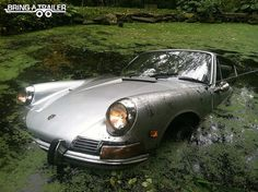 1968 Porsche 912. Why they should put the engine in the front.