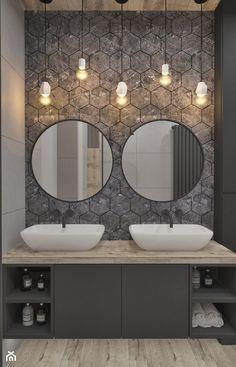 Mieszkanie w skandynawskim stylu - Łazienka, styl skandynawski - zdjęcie od Illa Design - homebook