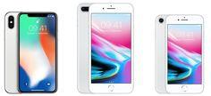 Iphone X,8Plus,8
