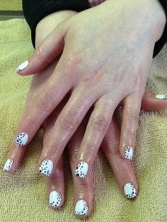 CND Shellac, pretty polka dots by Jill G.