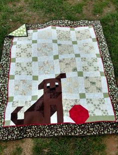 There's a dog on my quilt 2016