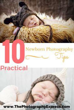 10 Practical Newborn Photography Tips! www.ThePhotographyExpress.com