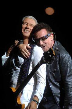 Bono loves him some Adam.