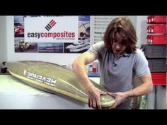 How to Repair a Damaged Composite Canoe or Kayak - Carbon/Kevlar Fibre - YouTube