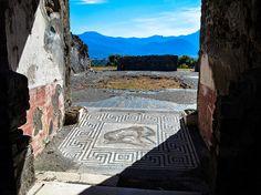 Pompei, Italy. Beautiful ruins.