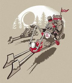 Ewok Easy Rider!
