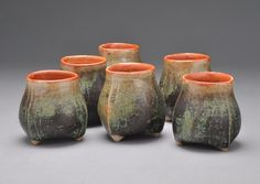 Tripod cups - Covington Pottery - Gallery