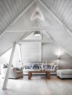 9 Achieving Cool Tips: Attic Rooms Cubbies attic design loft conversions. Home Interior, Interior And Exterior, Interior Decorating, Decorating Ideas, Attic Rooms, Attic Spaces, Attic House, Attic Playroom, Attic Bathroom